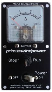 Primus Windpower Wind Control Panel